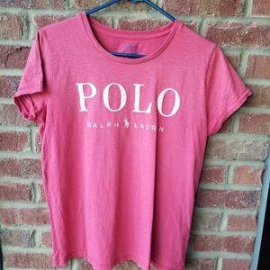 Polo cranberry short sleeve T-shirt